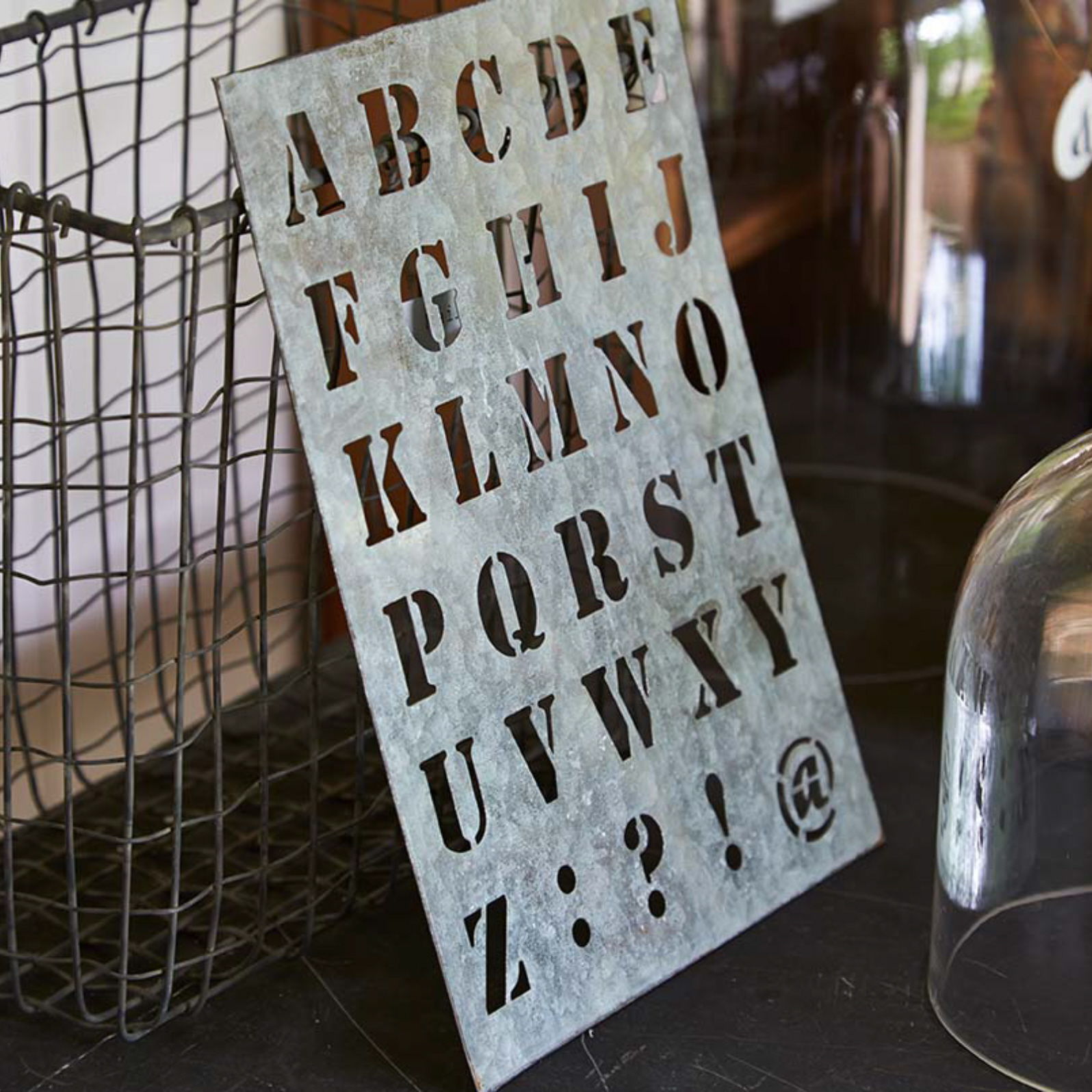 Alphabet number stencils dee puddy for Metal stencil set letters